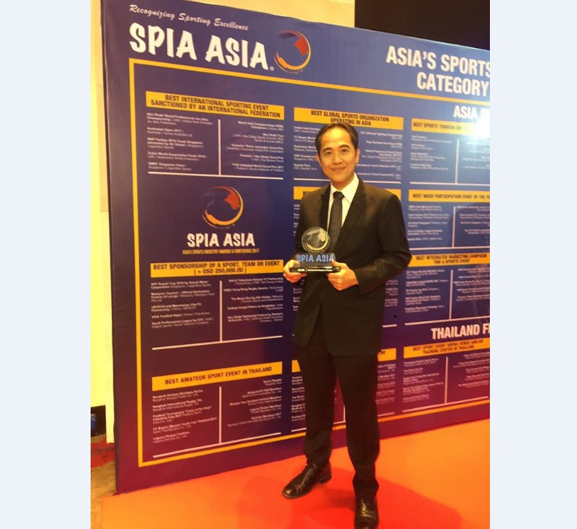 Silver Award: Best Sport Event Organizer in Thailand